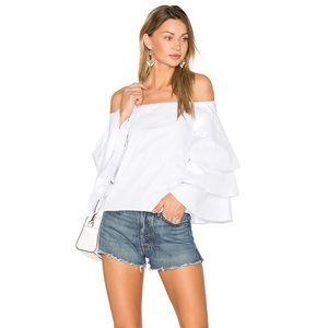 NWT Endless Rose Ruffle Off the Shoulder Top
